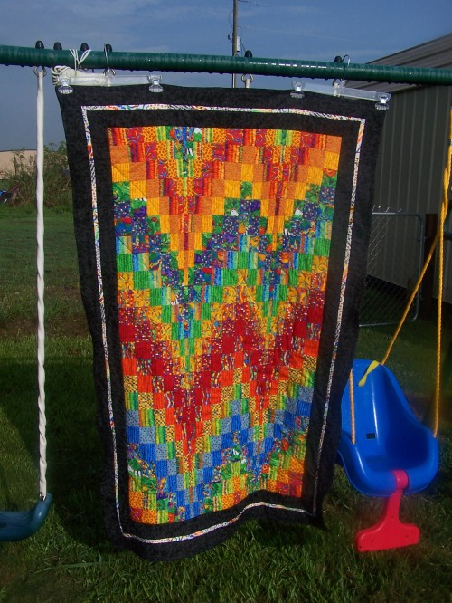 crib sized bargello  $100