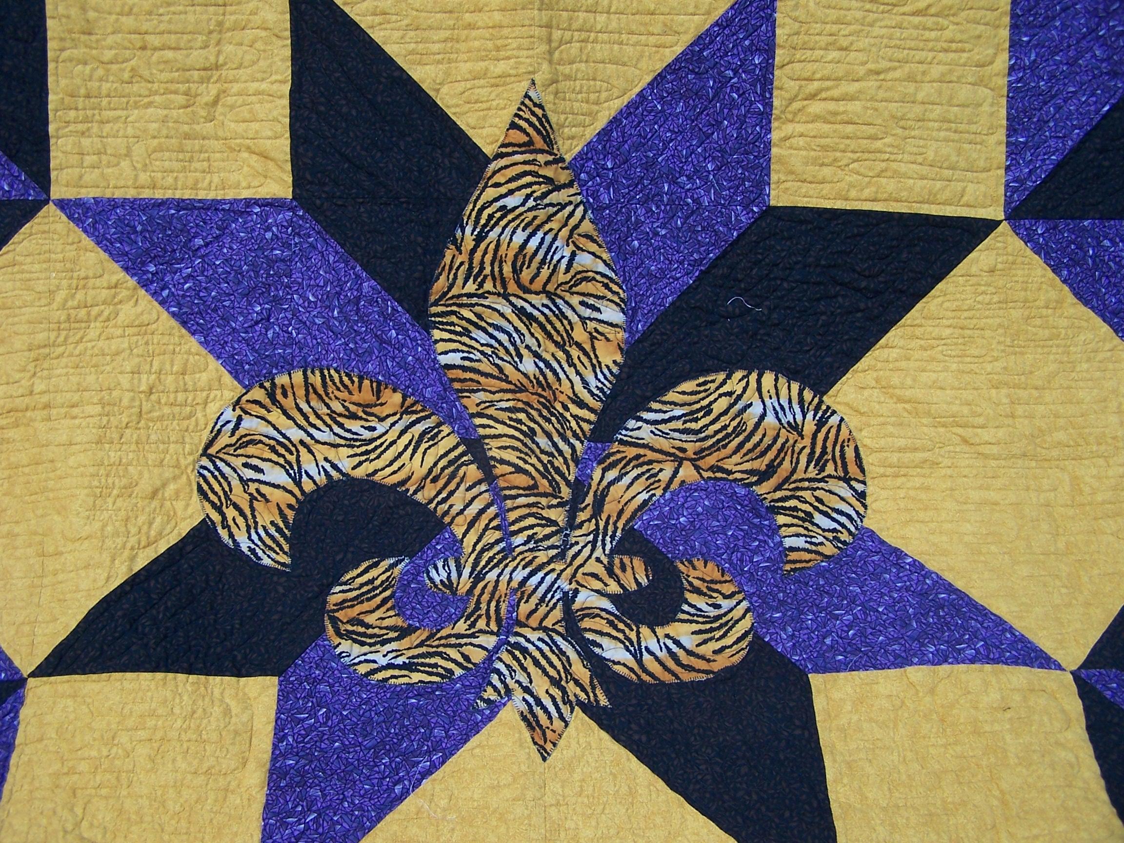 Star of the Tiger - Butterfly Angels Quilting : fleur de lis quilt pattern - Adamdwight.com