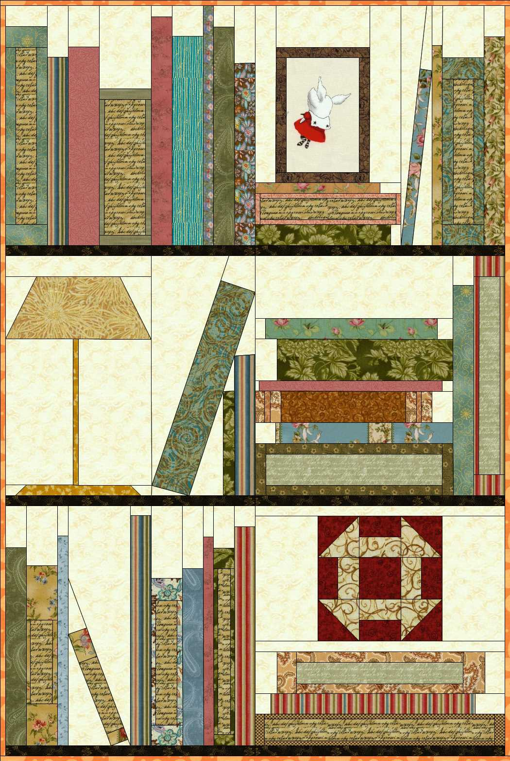 Bookcase Quilt Pattern Best Decorating Ideas