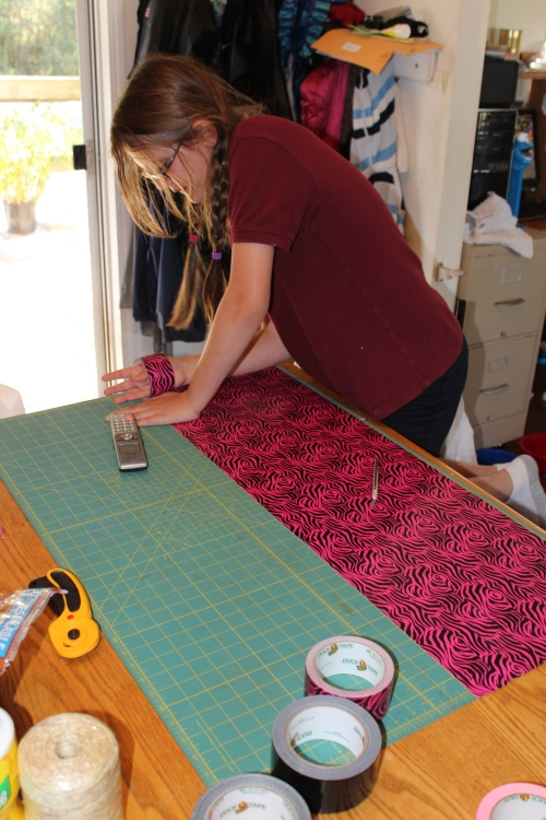 """making """"fabric"""" from ducttape"""