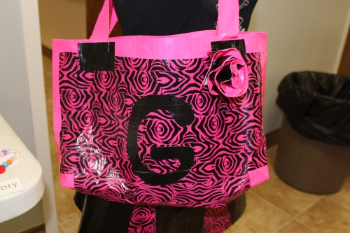 The tote bag.  It even has a pocket.